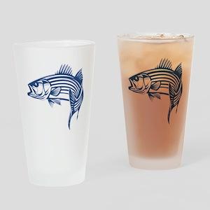 striper Drinking Glass