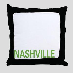 livenashville2 Throw Pillow