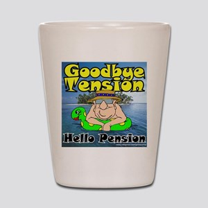 Goodbye Tension T-Shirt Shot Glass