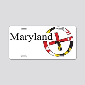 MGS_logo_light Aluminum License Plate