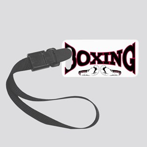 boxing2 Small Luggage Tag