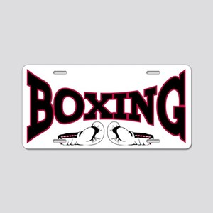 boxing2 Aluminum License Plate