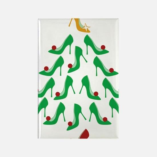 shoe-tree_dark Rectangle Magnet