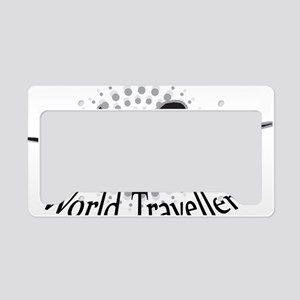 World Traveller License Plate Holder