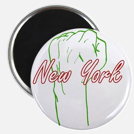 new-york-fist-pump Magnet