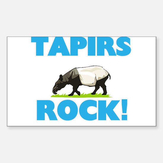 Tapirs rock! Decal