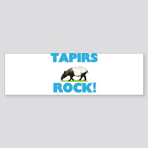 Tapirs rock! Bumper Sticker
