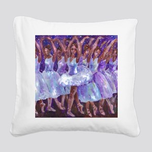 nutcdance sq Square Canvas Pillow