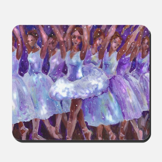 nutcdance sq Mousepad