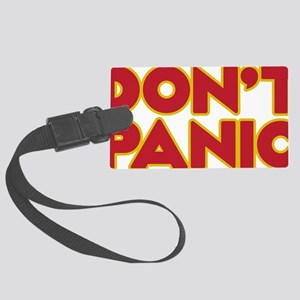 Dont Panic Large Luggage Tag