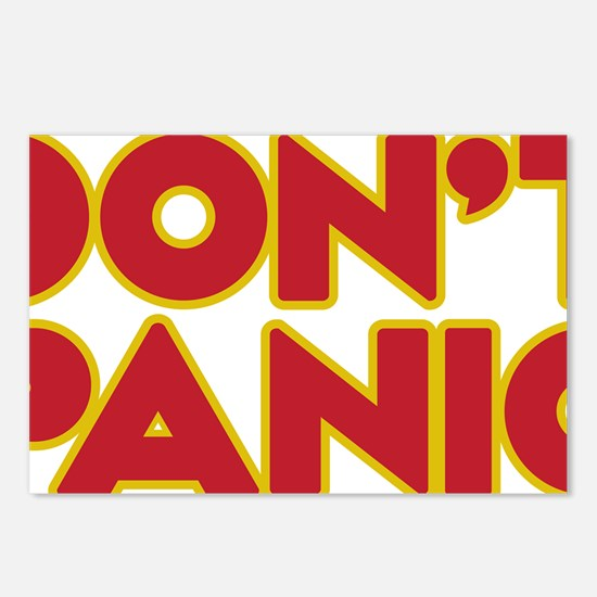 Dont Panic Postcards (Package of 8)