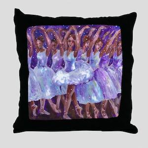 nutcdance sq Throw Pillow