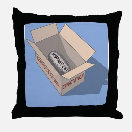 expectations-2-CRD Throw Pillow
