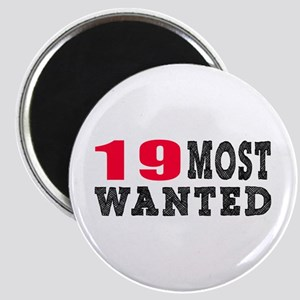 19 most wanted birthday designs Magnet