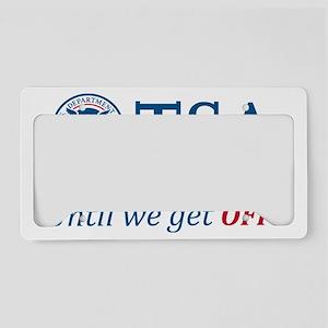 TSA-light License Plate Holder