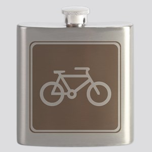 brown_bicycle_trail_sign_real Flask