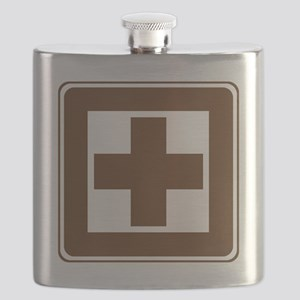 brown_first_aid_sign_real Flask