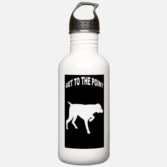 GET TO THE POINT 441_i Water Bottle