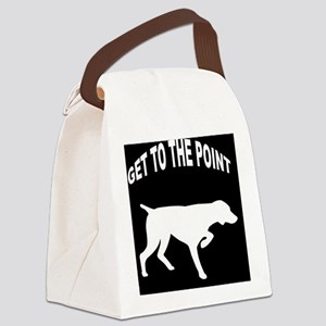 GET TO THE POINT IPAD CASE Canvas Lunch Bag