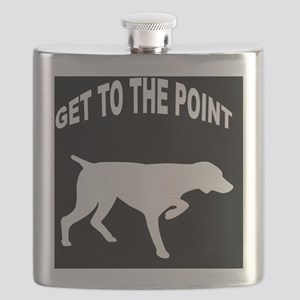 GET TO THE POINT IPAD CASE Flask