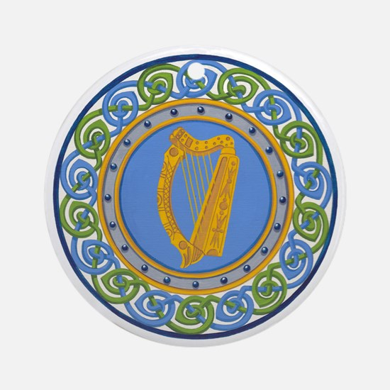 Ireland Round Ornament