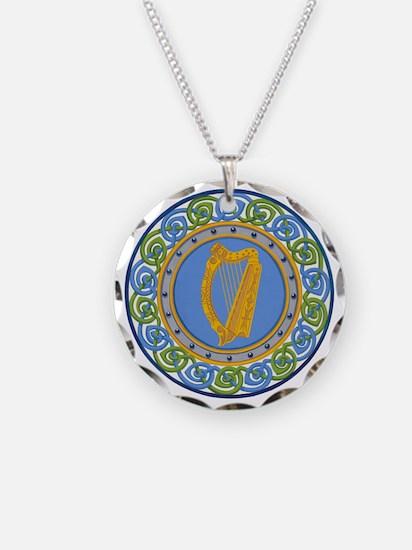 Ireland Necklace Circle Charm