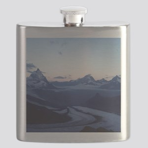 Swiss Alps Matterhorn Flask