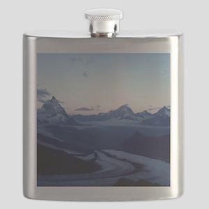 Swiss Alps Matterhorn Flask