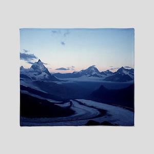 Swiss Alps Matterhorn Throw Blanket