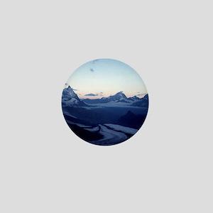 Swiss Alps Matterhorn Mini Button