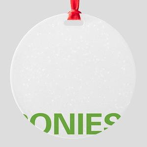 liveponies2 Round Ornament