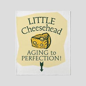 Little Cheesehead Throw Blanket