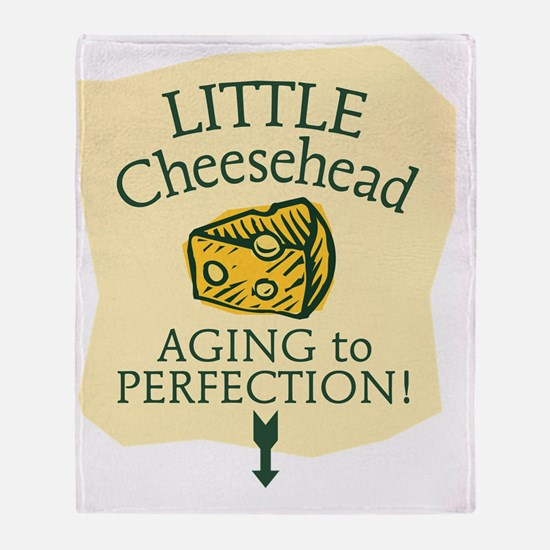 Little Cheesehead Throw Blanket