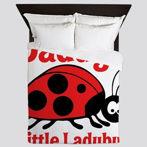 Ladybug Daddy Queen Duvet