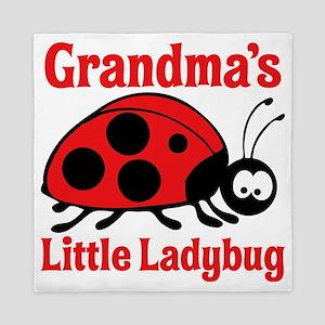 Ladybug Grandma Queen Duvet