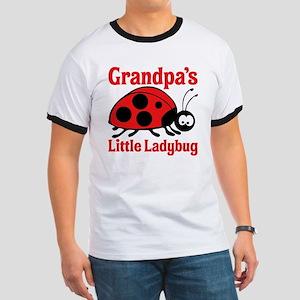 Ladybug Grandpa Ringer T