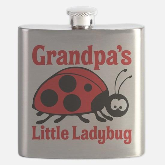 Ladybug Grandpa Flask