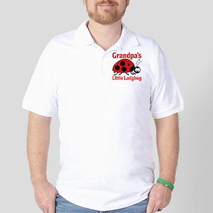 Ladybug Grandpa Golf Shirt