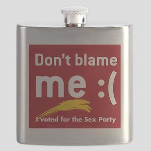 dontBlameMe Flask
