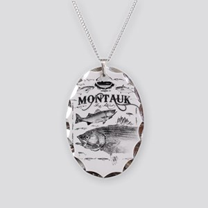 montauk final Necklace Oval Charm