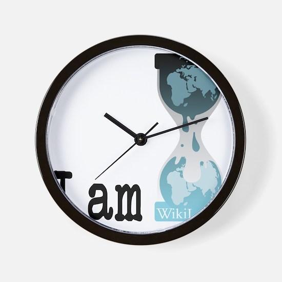 I am wikileaks3 Wall Clock