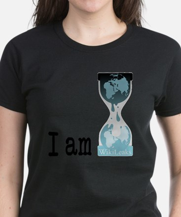 I am wikileaks3 Women's Dark T-Shirt