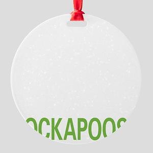 livecockapoo2 Round Ornament