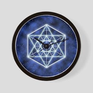Sirius Large round button Wall Clock