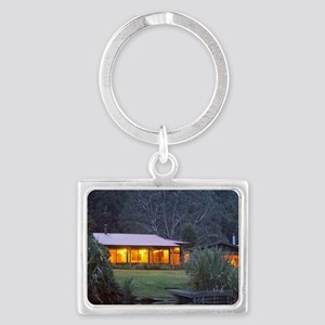 Wilderness Lodge Lake Moeraki,  Landscape Keychain