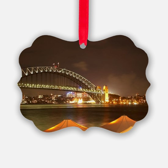 Sydney Harbour Bridge and Sydney  Ornament