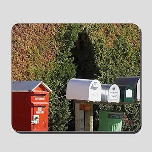 Rural Letterboxes, Bannockburn, Central  Mousepad