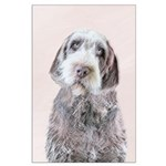 Wirehaired Pointing Griffon Large Poster