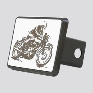 vintage cafe racer Rectangular Hitch Cover