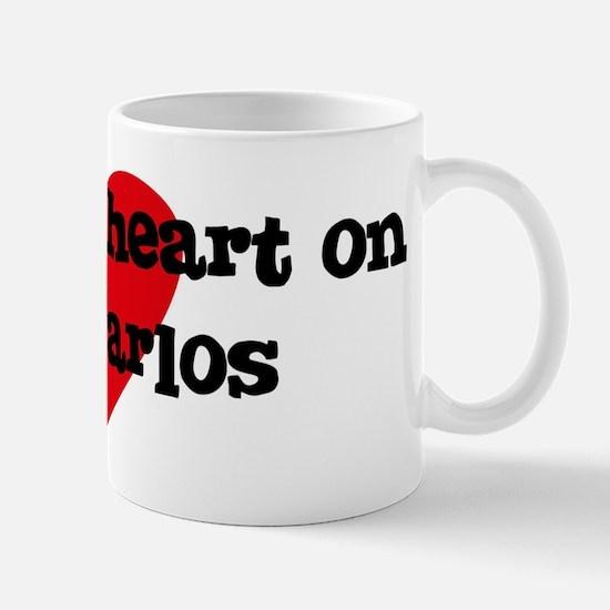 Heart on for Carlos Mug